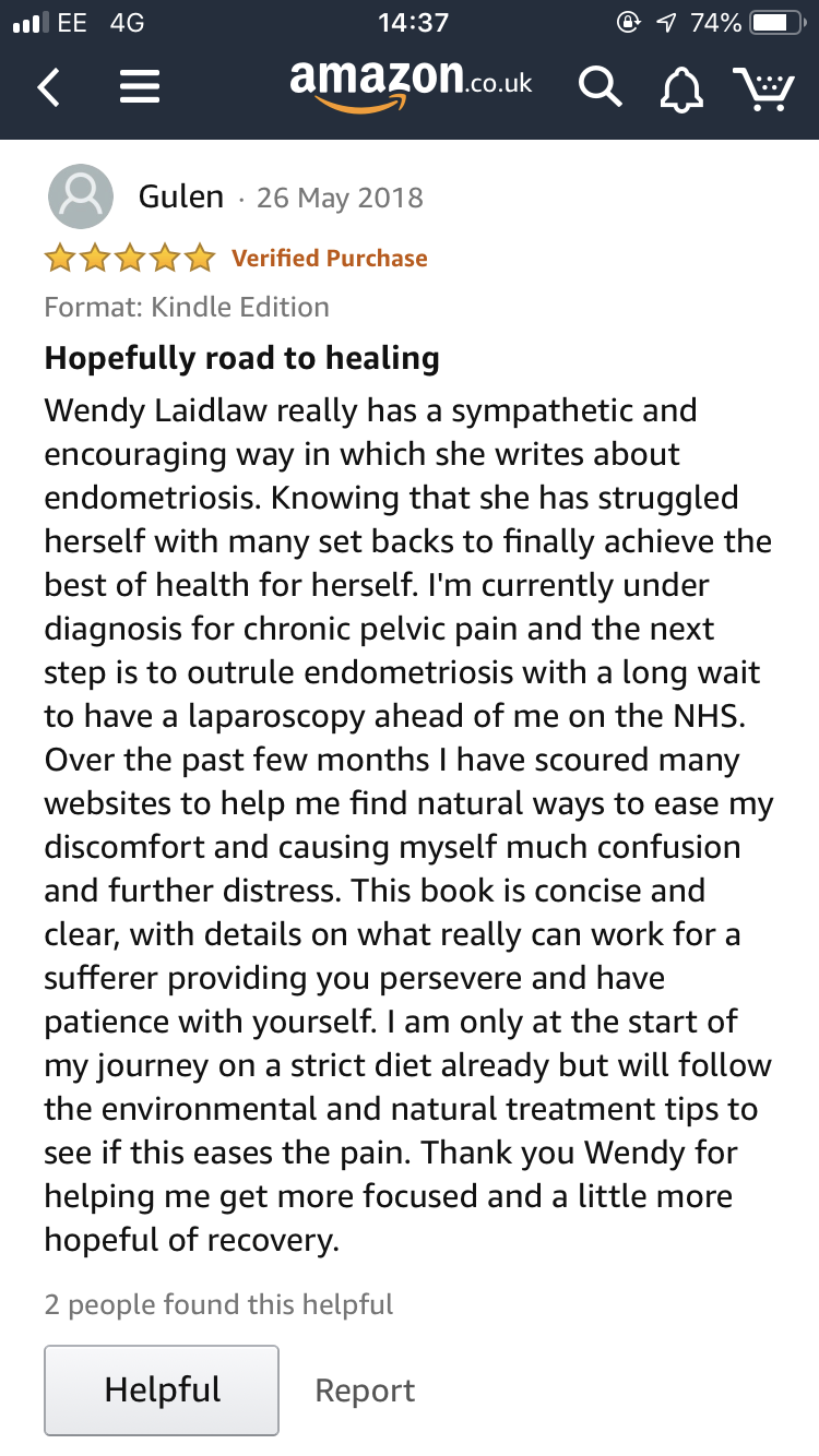 Review For Heal Endometriosis Naturally Book