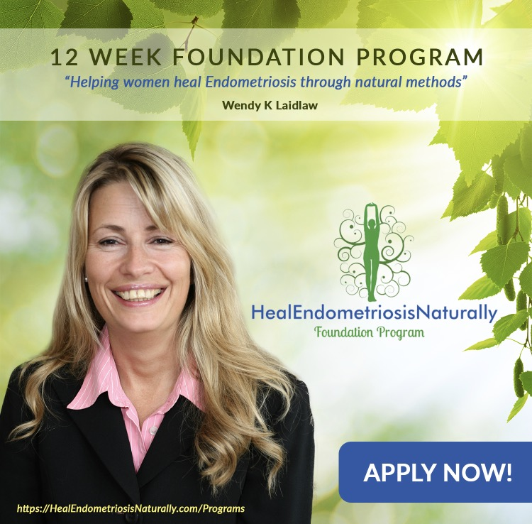 Heal Endometriosis Naturally 12 Week Foundation Program